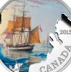 Канада 20 долларов 2015 Пропавшая экспедиция Франклина