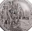 НИУЭ 5 долларов 2015 Христофор Колумб и Марко Поло